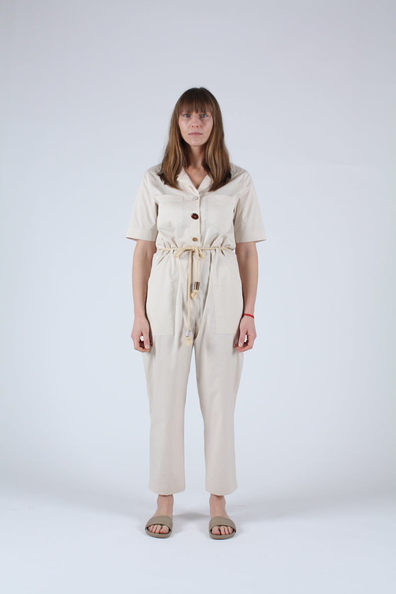 Zuni Jumpsuit Off White