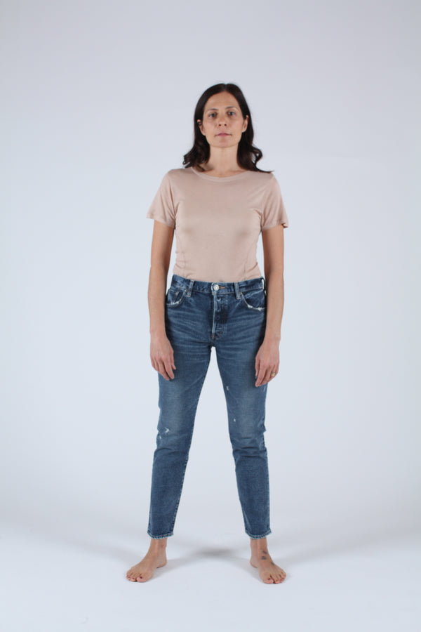 MVS Shell Tapered Skinny Dark Blue