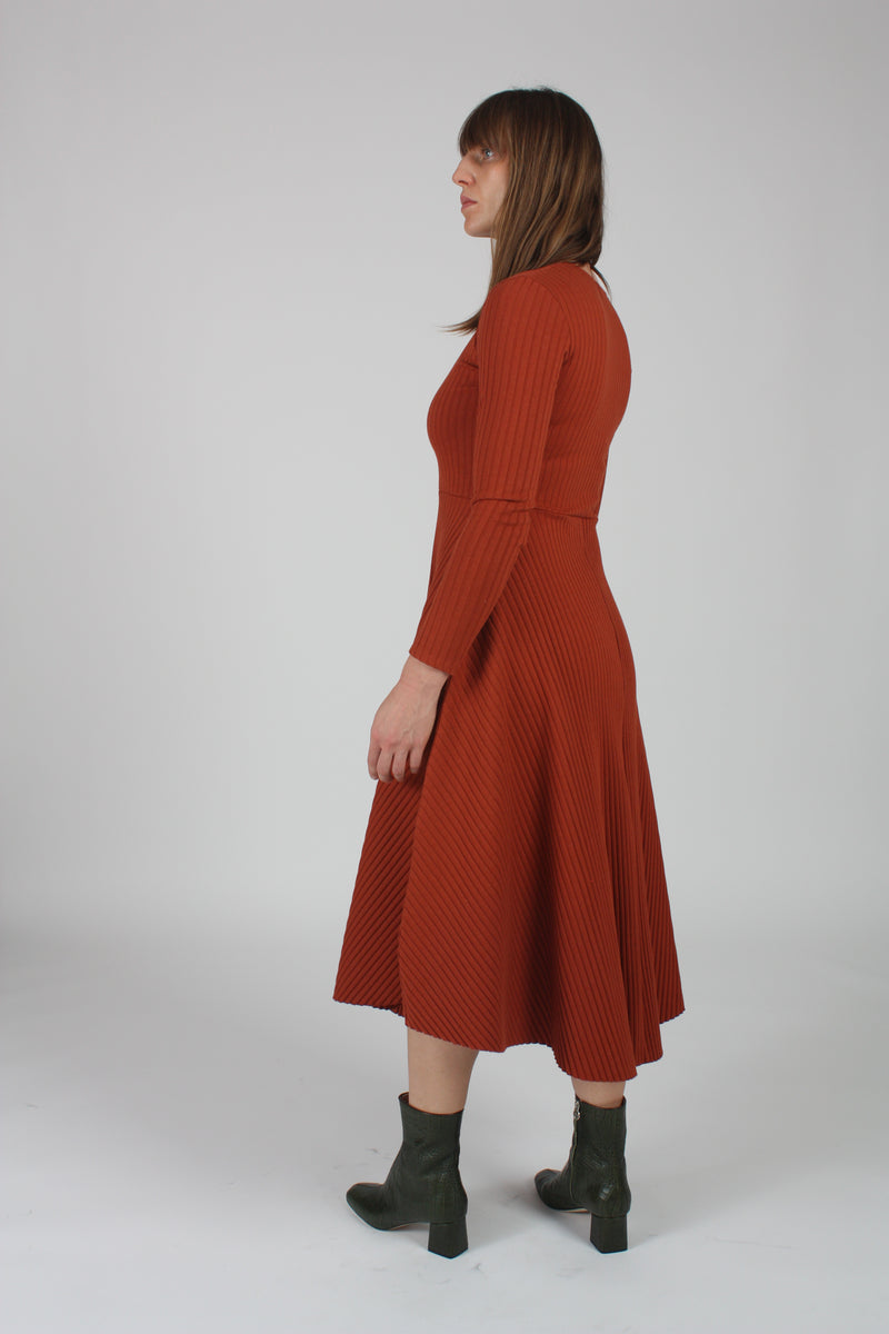 Molly Dress Terracotta