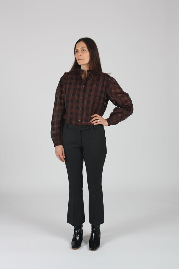 Brooklyn Blouse Umber