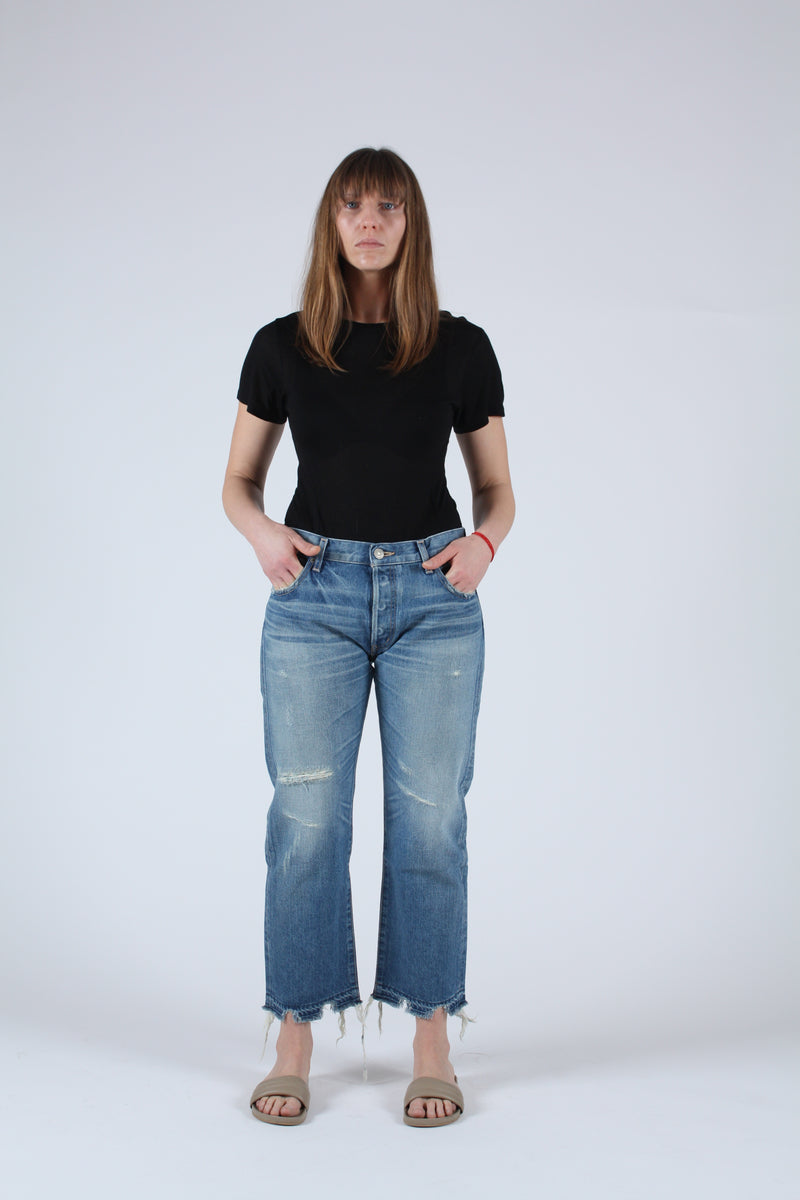 MV Leola Cropped Straight Jean