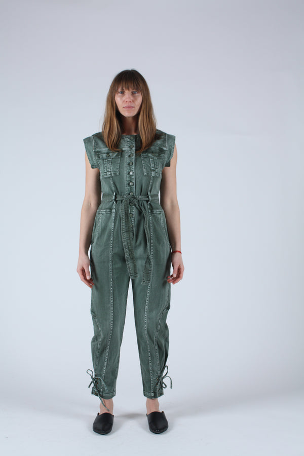 Adair Jumpsuit Army
