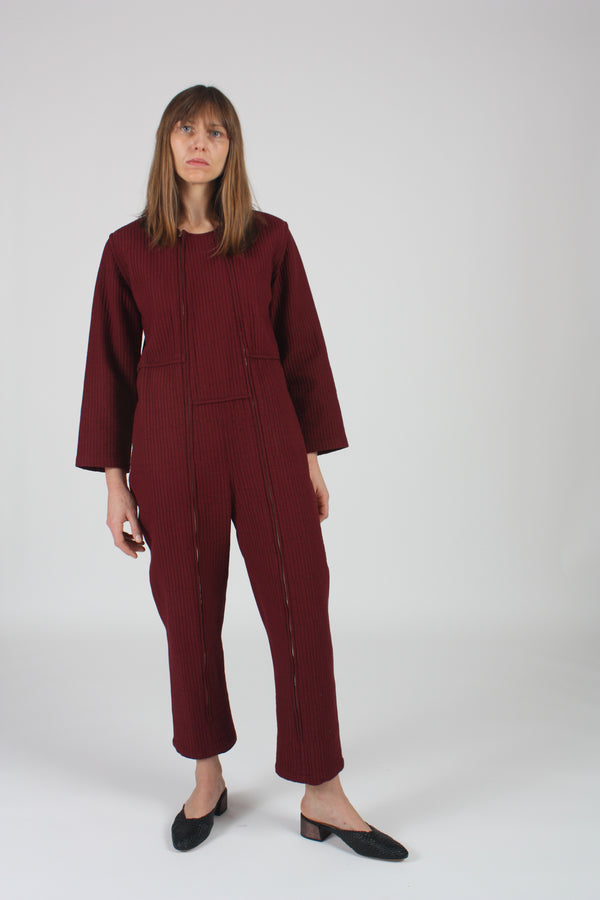 Ace Jumpsuit Quilted Cotton