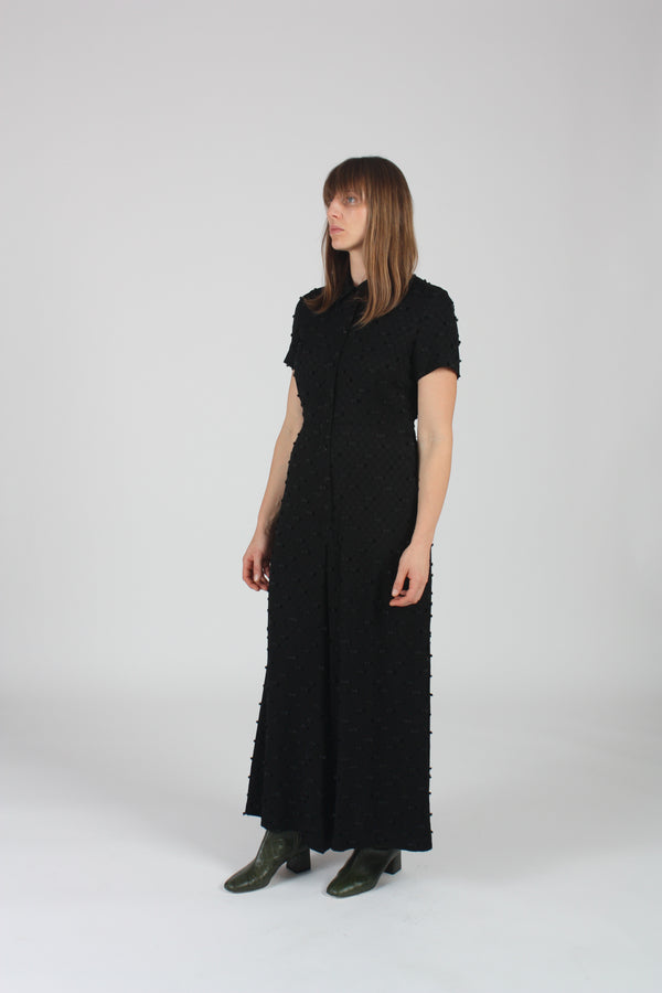 Envoy Jumpsuit Black Lashes
