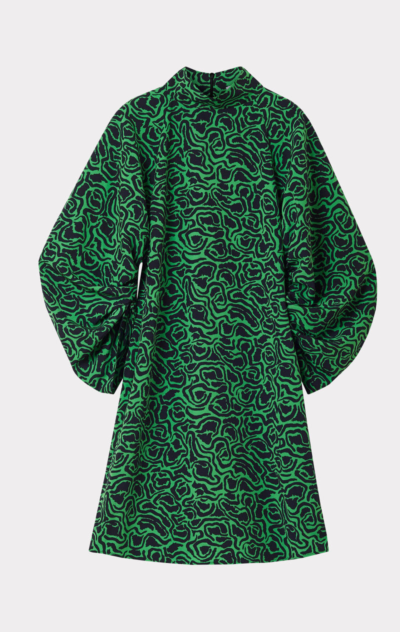 Elure Dress Emerald Green