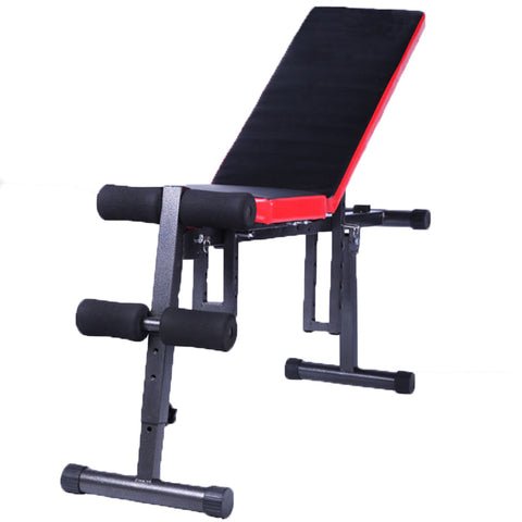 Image of Direct selling multi function lazy people health Web family supplies fitness equipment, sit ups dumbbell stool factory wholesale