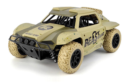 Image of Toys Rock Crawler Remote Control RC High Performance Truck 2.4 GHz Control System 4WD All-Weather 1:18 Size Ready To Run