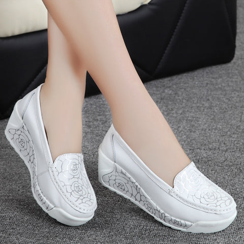2018 new shoes casual shoes leather shoes,