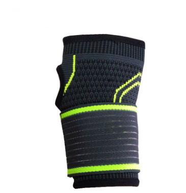 Image of Sports bandage, pressure protection, anti slip gloves, outdoor gymnastics, body building, wrist protection and wrist protection.