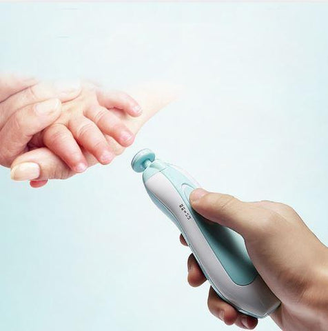 No Fuss Electric Baby Nail Trimmer