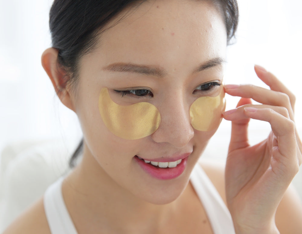 princess eye patch gold 30 pairs