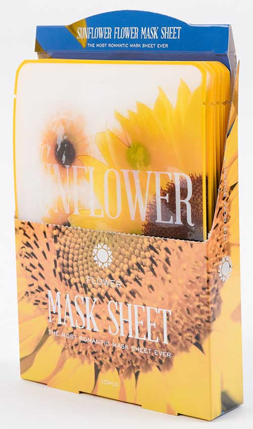 flower mask sunflower