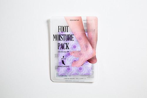 foot moisture pack purple