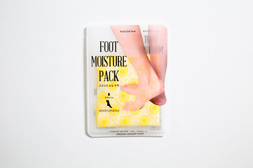 foot moisture pack yellow