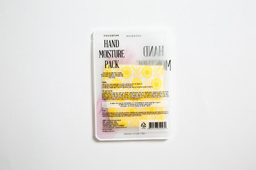 hand moisture pack yellow