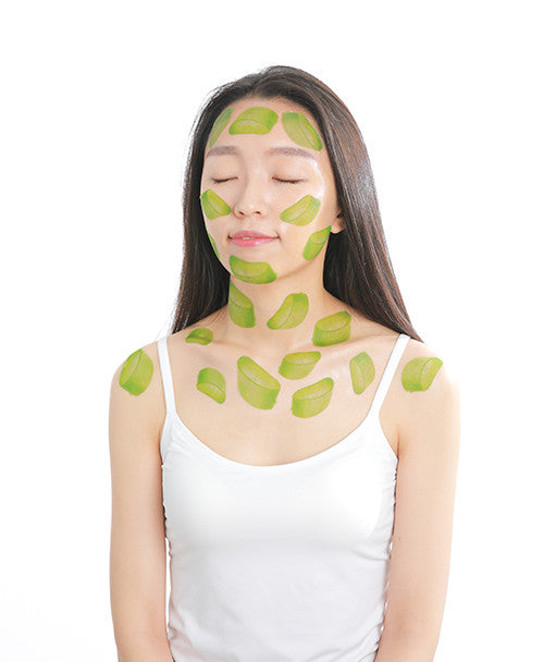 slice mask aloe