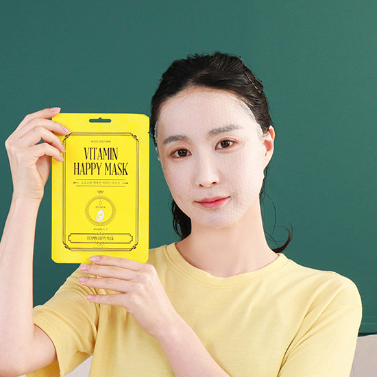 vitamin / snow lotus happy mask - Vitamin  C & E Care