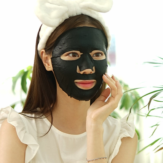 black / charcoal happy mask - pore care