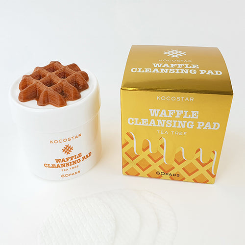 Waffle Cleansing Pads 60 pcs Jar