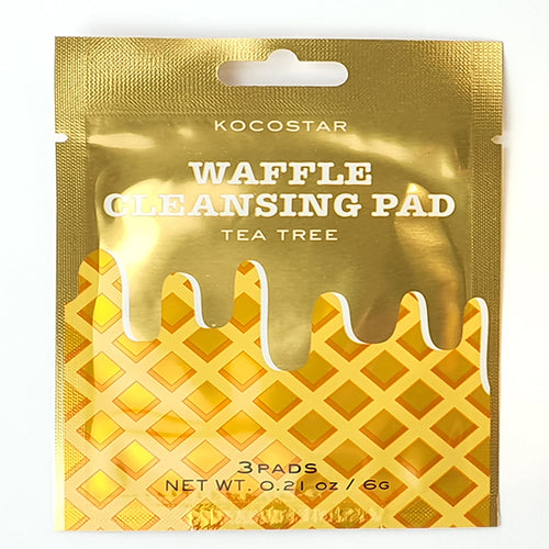 Waffle Cleansing Pad 10 sachets