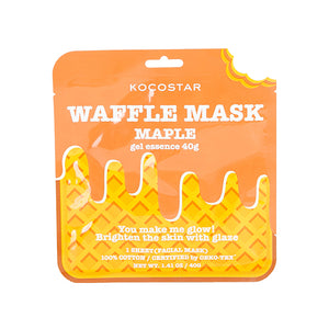 Waffle Mask Maple - 40g gel essence + Breathable Weaved Sheet