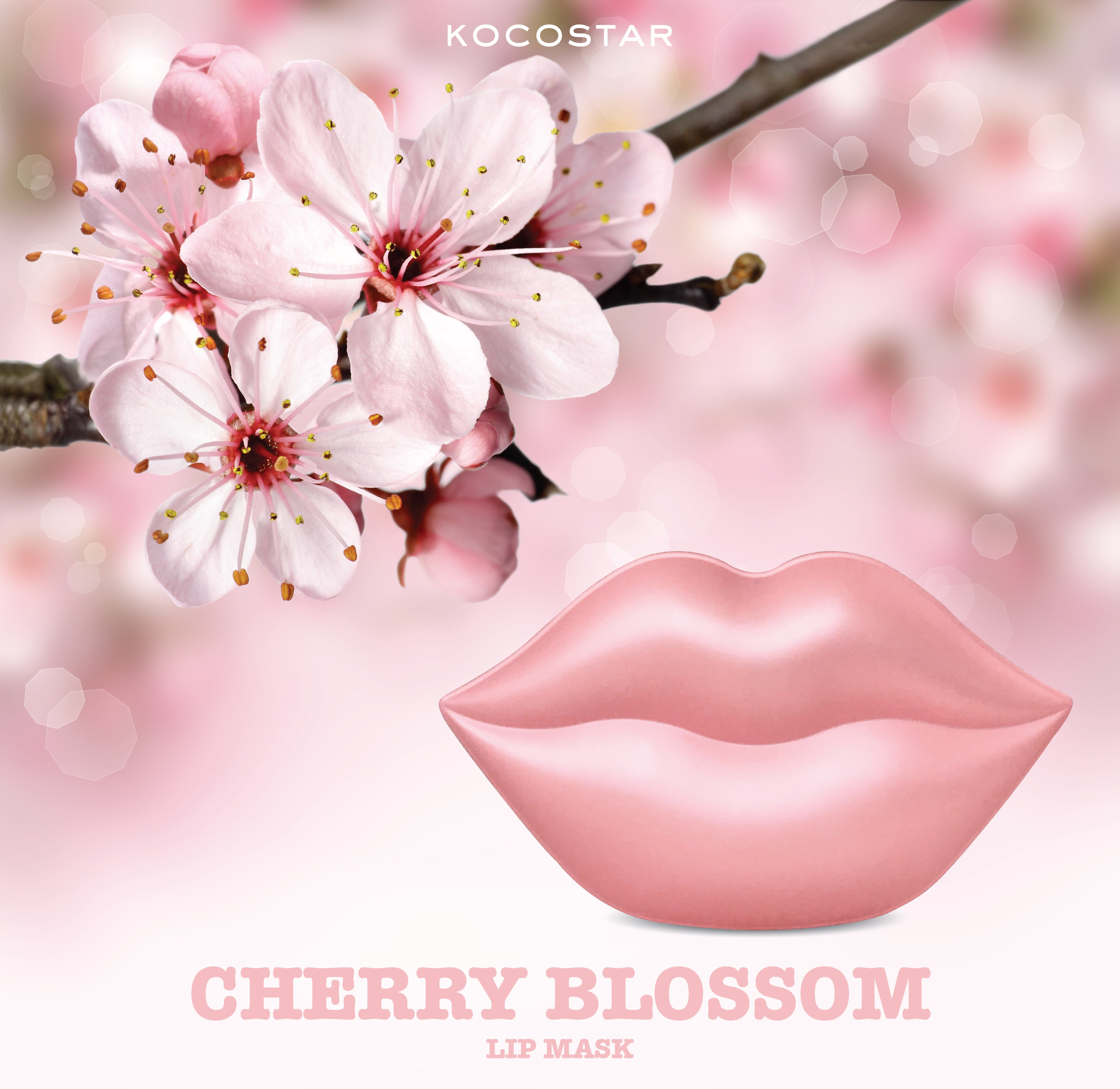 LIP MASK CHERRY BLOSSOM - Firming & Vitality