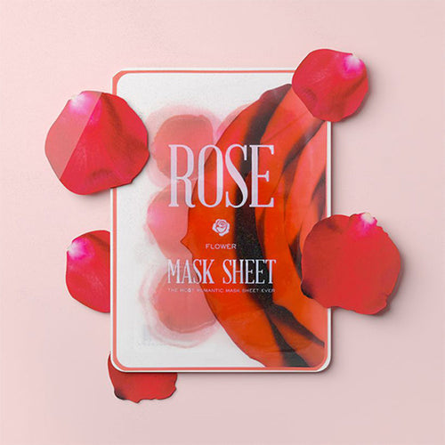 flower mask rose