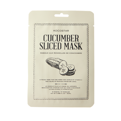 therapy sliced mask cucumber