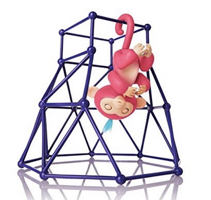 Interactive Baby Monkey Jungle Gym Play Set