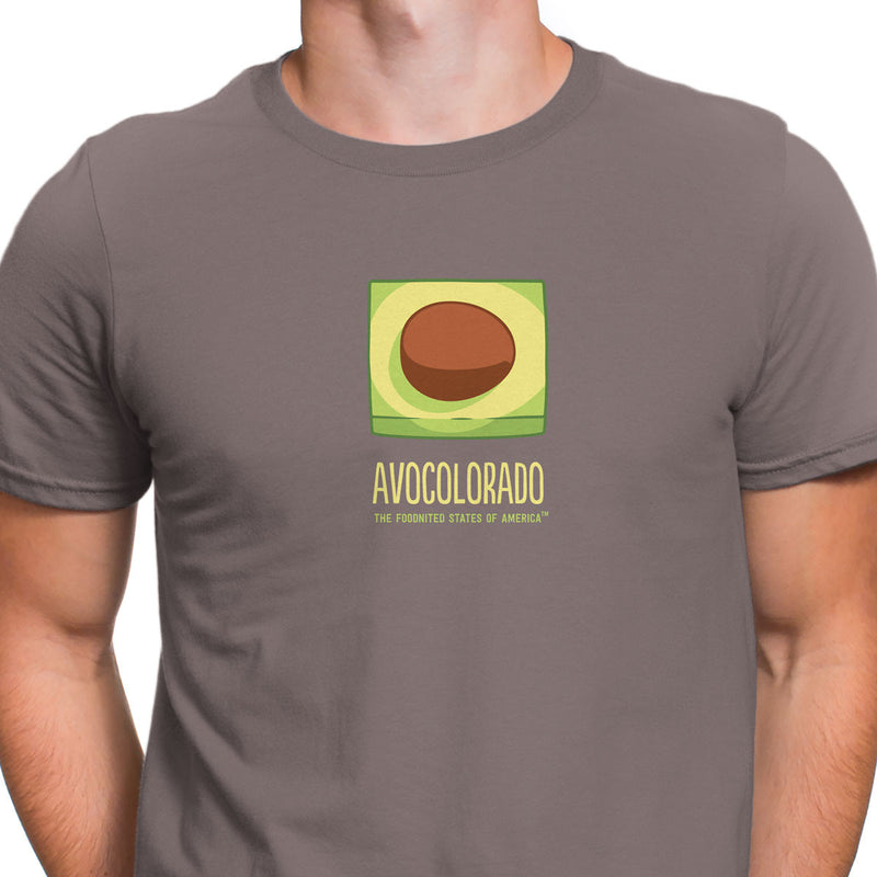 Avocolorado T-shirt, Men's/Unisex