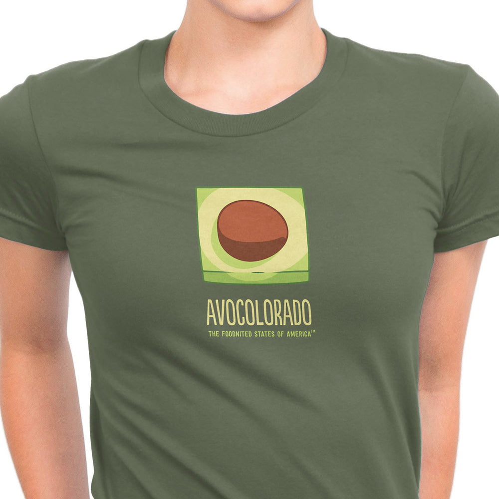 Avocolorado T-shirt, Women's