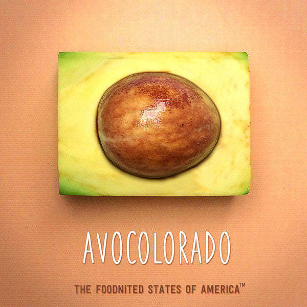 Avocolorado Foodnited States Poster - The Foodnited States