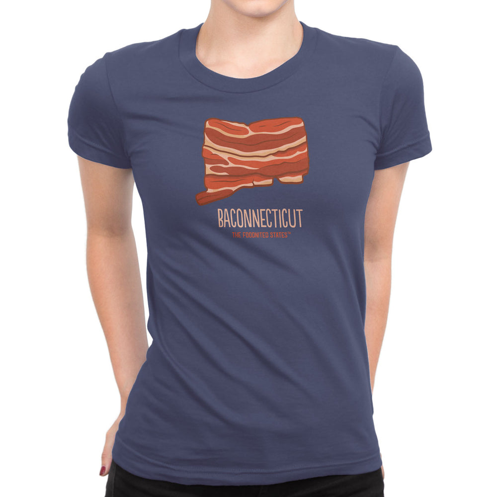 Baconnecticut T-shirt, Women's - The Foodnited States
