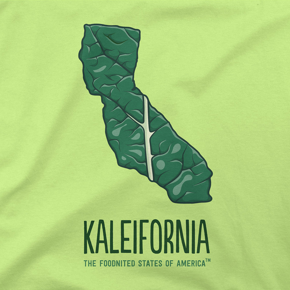 Kaleifornia T-shirt, Women's - The Foodnited States