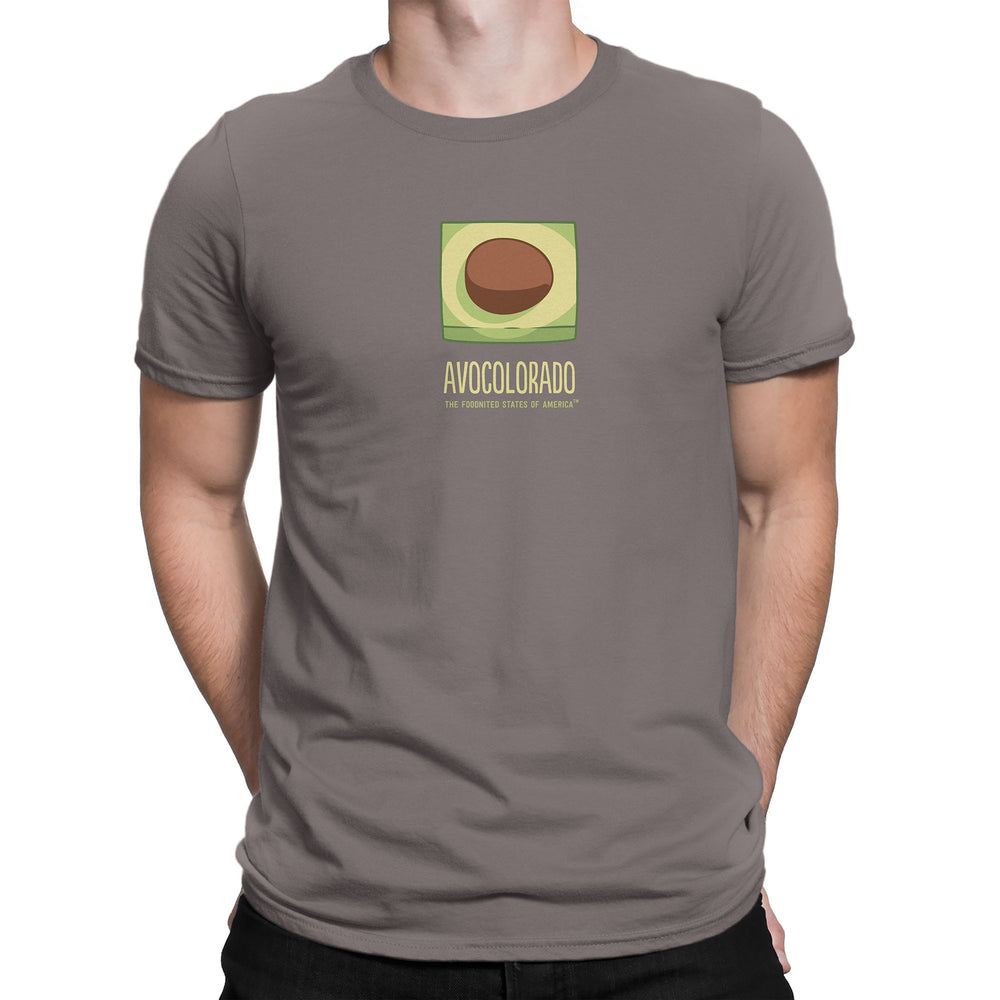 Avocolorado T-shirt, Men's/Unisex - The Foodnited States