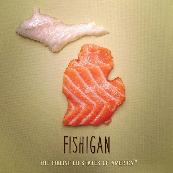 Fishigan Foodnited States Poster - The Foodnited States