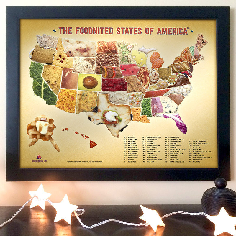 The Foodnited States of America Poster