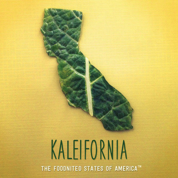 Kaleifornia Foodnited States Poster - The Foodnited States