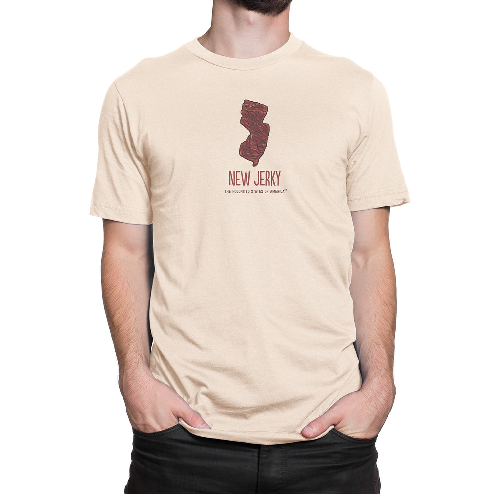 New Jerky T-shirt, Men's/Unisex - The Foodnited States