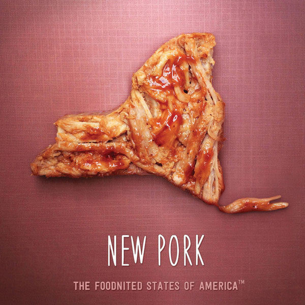New Pork Foodnited States Poster - The Foodnited States