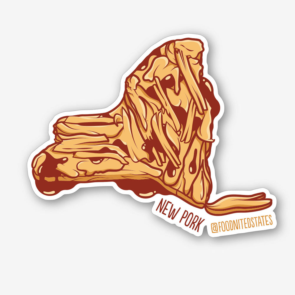 New Pork Sticker