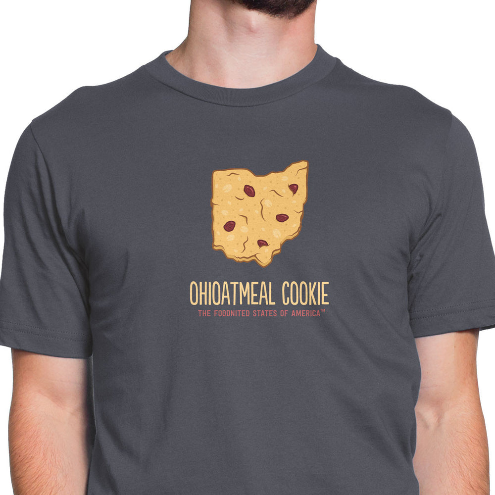 Ohioatmeal Cookie T-shirt, Men's/Unisex