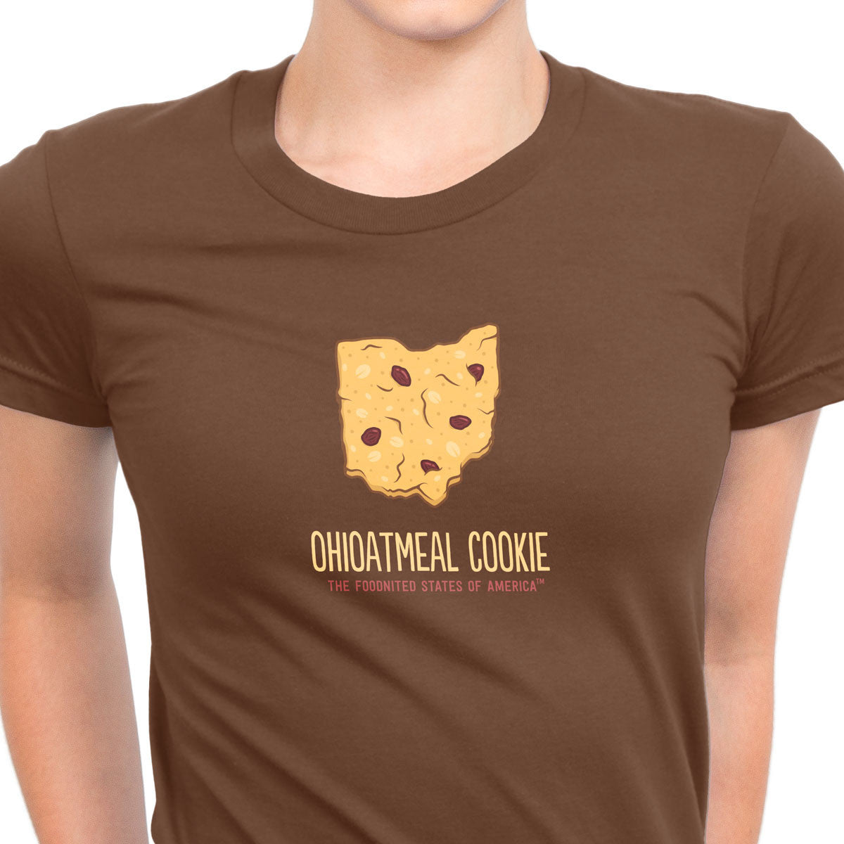Ohioatmeal Cookie T-shirt, Women's