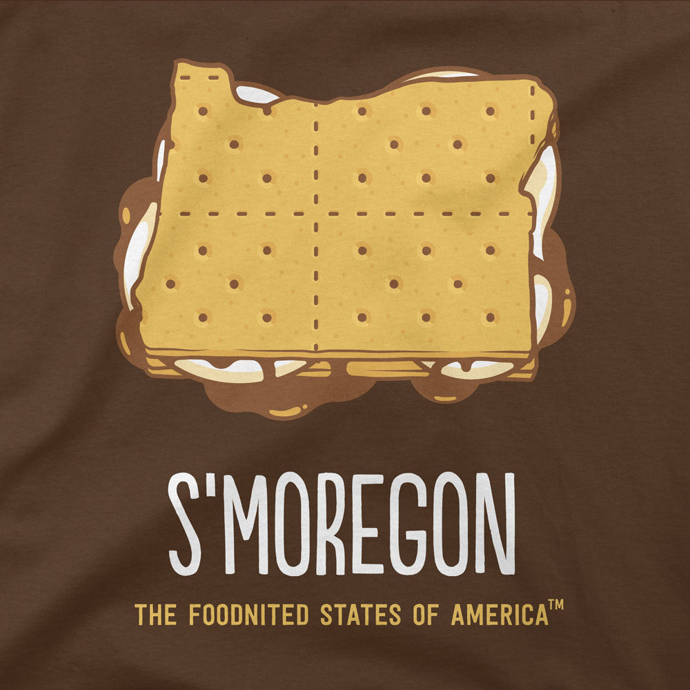 S'moregon T-shirt, Kid's - The Foodnited States