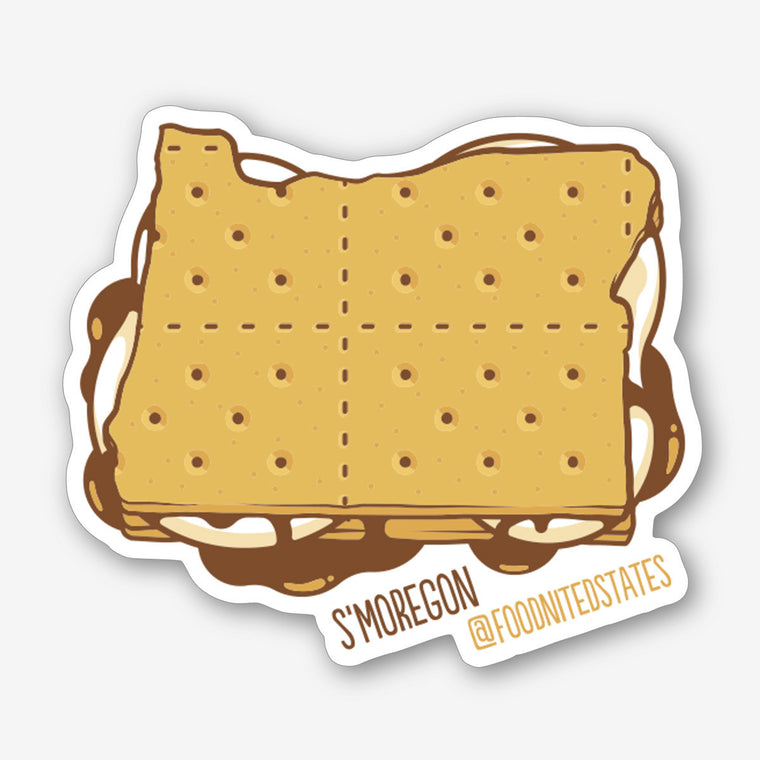 S'moregon Fridge Magnet