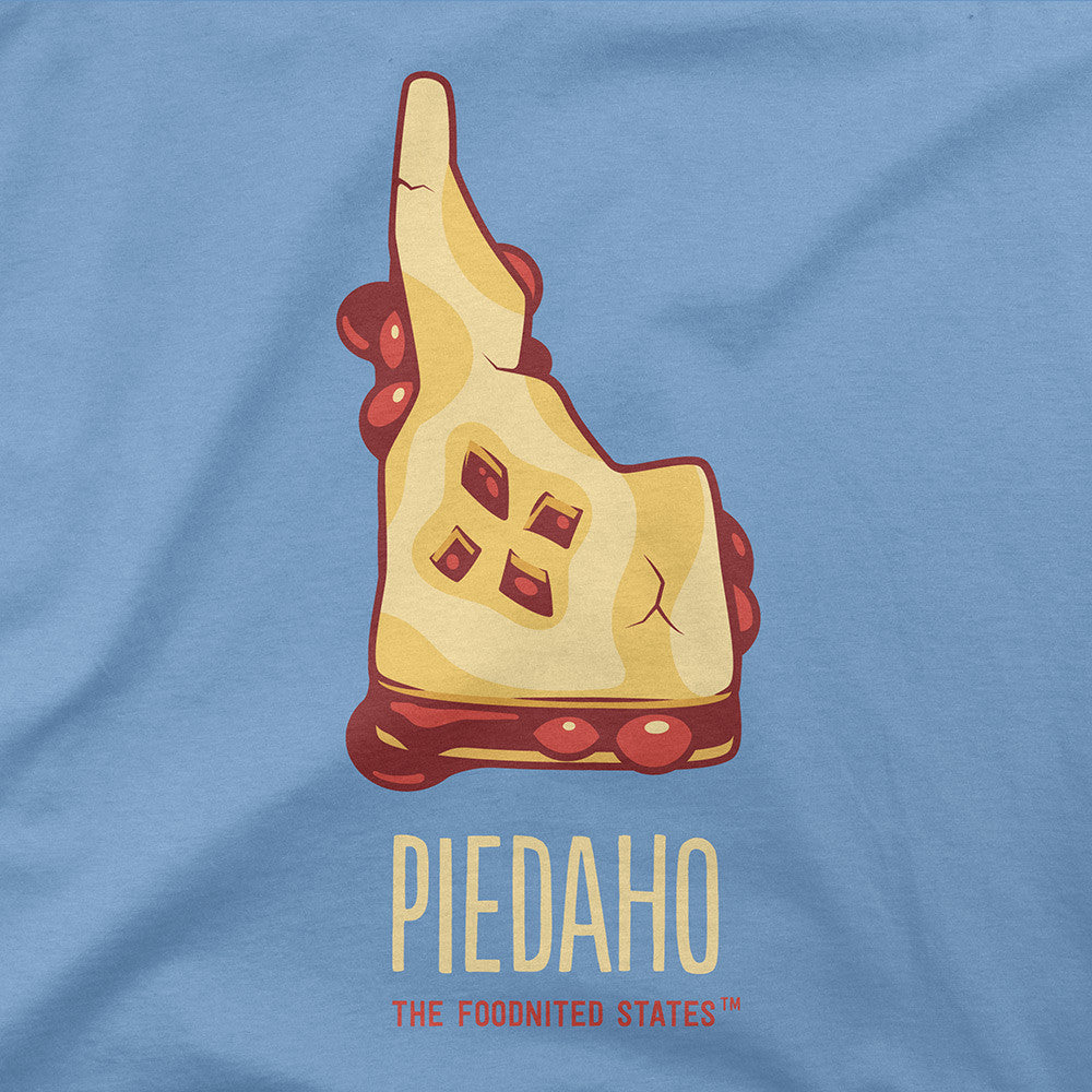 Piedaho T-shirt, Men's/Unisex - The Foodnited States