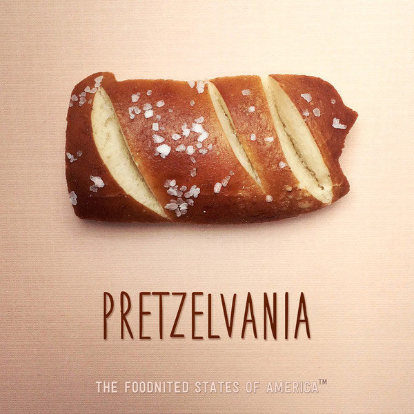 Pretzelvania Foodnited States Poster - The Foodnited States