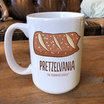 Pretzelvania Coffee Mug - The Foodnited States
