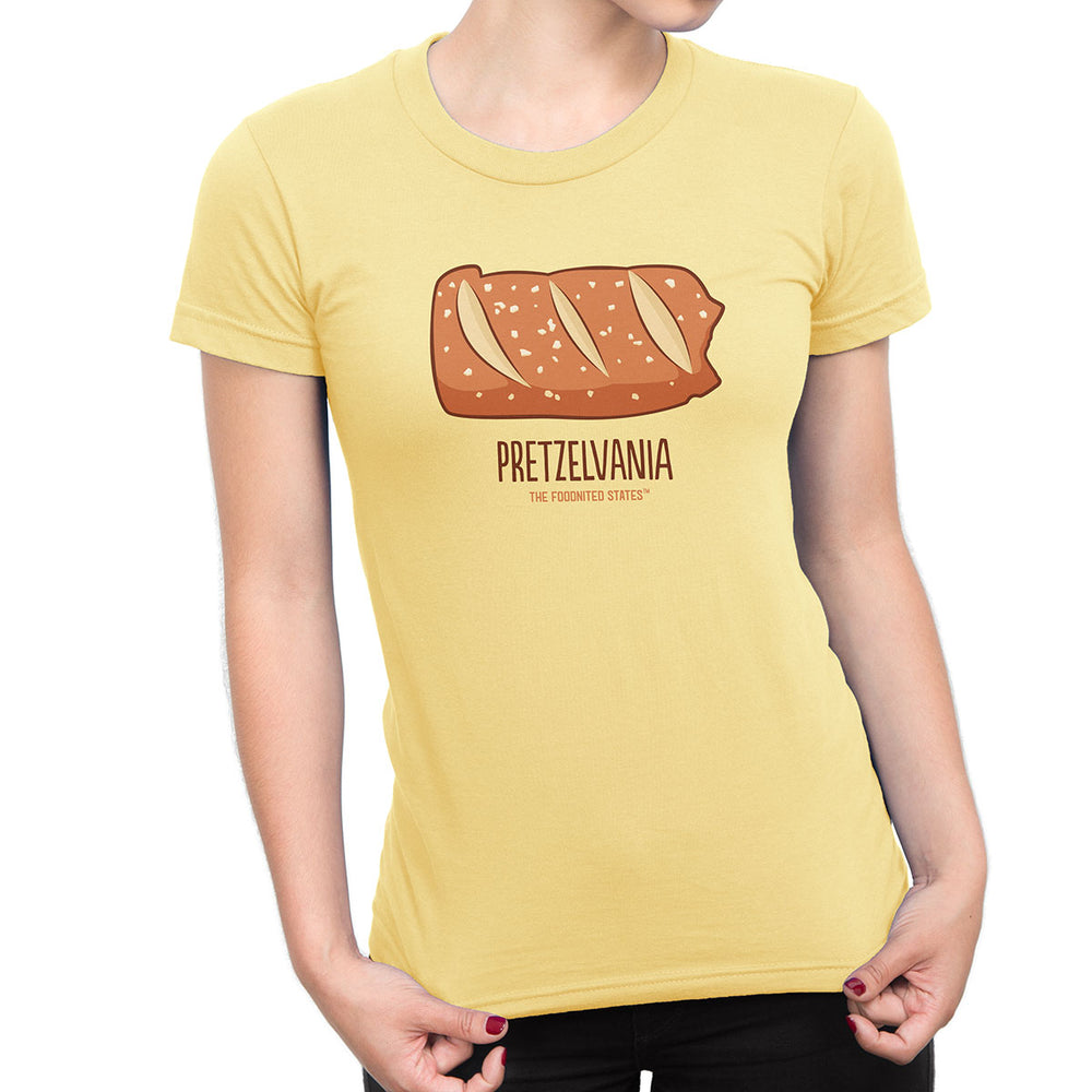 Pretzelvania T-shirt, Women's - The Foodnited States