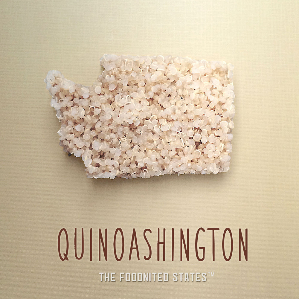 Quinoashington Foodnited States Poster - The Foodnited States